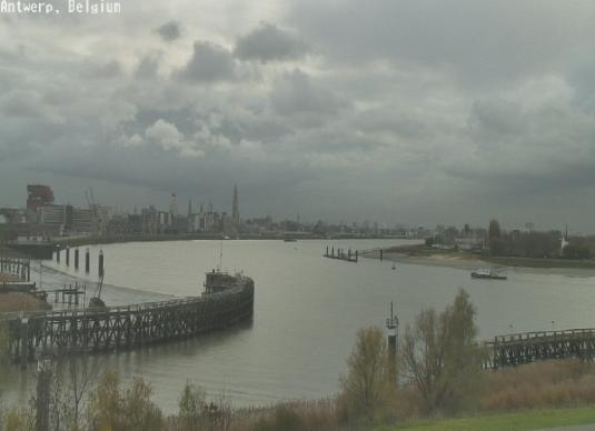 Webcam For The Port Of Antwerp