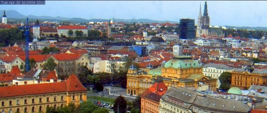 Zagreb City Centre Weather Webcam Zagreb Croatia