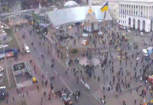 Independence Square Kiev Live Webcam Kiev Ukraine