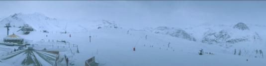 Val dIsere Skiing Resort Weather Webcam Solaise Ski Slopes Southeastern France