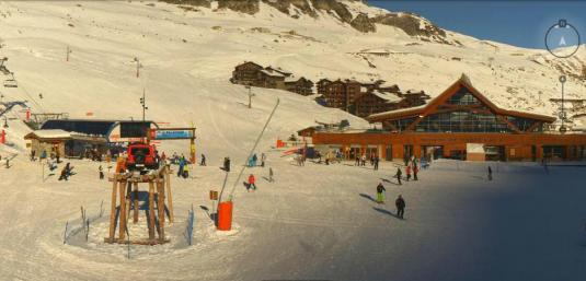 Tignes le Lac Live HD Streaming Skiing Resort Weather Webcam Rhone Alpes France