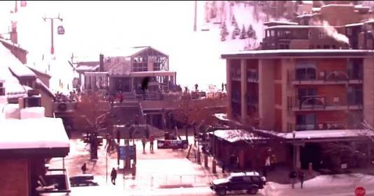 Aspen Mountain Ski Resort Gondola Plaza Ski Weather Webcam Colorado