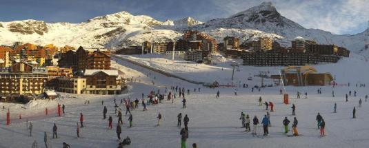 Val Thorens Live Skiing Resort Weather Webcam French Alps France