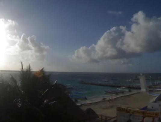 Puerto Morelos Beach Resort Weather Webcam Quintana Roo Mexico
