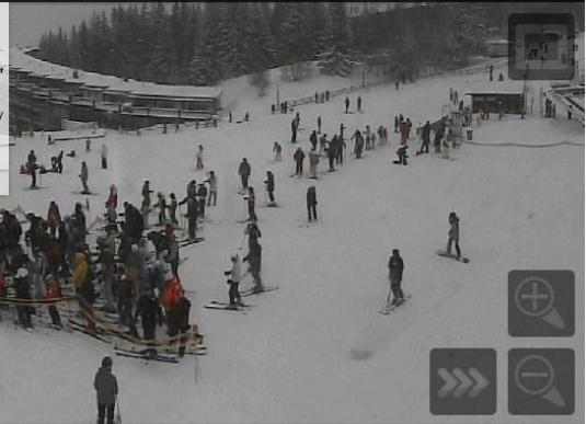 Les Arcs 1800 Vagere Skiing Lifts Live Weather Webcam French Alps