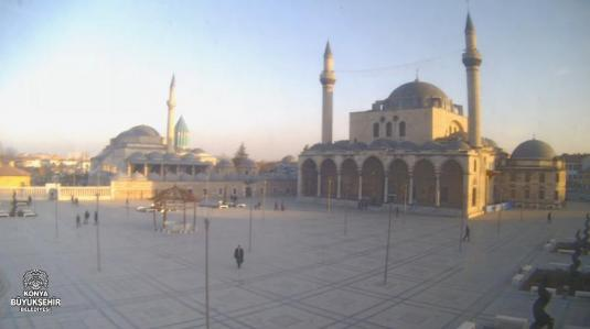 Mevlana Museum City Square Webcam Konya City Turkey