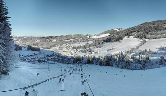 Jungholz Skiing Resort Live Ski Slopes Weather Webcam Austria