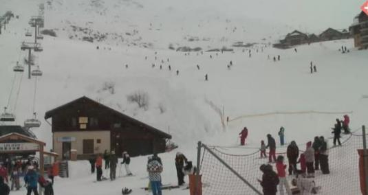 Valmeinier Skiing Resort Ski Slopes Weather Webcam Rhone Alpes France