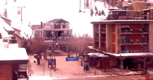 Aspen Skiing Resort Gondola Streaming Ski Weather Webcam Colorado