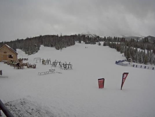 Big Sky Ski Resort Madison Village Ski Slopes Cam Montana