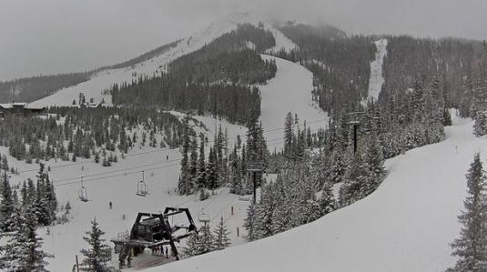 Big Sky Resort Live Lone Peak Skiing Slopes Weather Webcam Montana