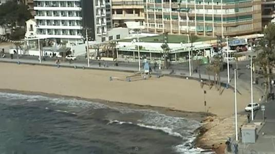 Costa Blanca Benidorm Rincón de Loix Live Streaming Beach Weather Webcam Spain