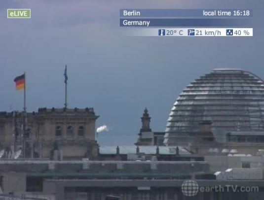 Berlin City Live Panorama Streaming Weather Cam