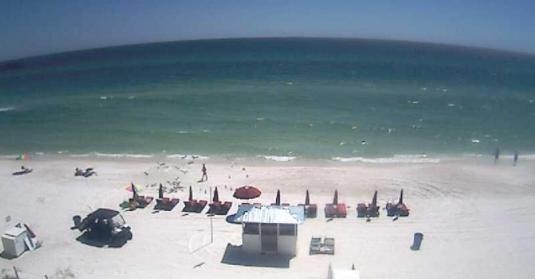 Panama City Beach Live Streaming Beachfront weather webcam Florida