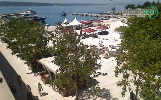 Crikvenica Holiday Resort Beach Weather Webcam Croatia