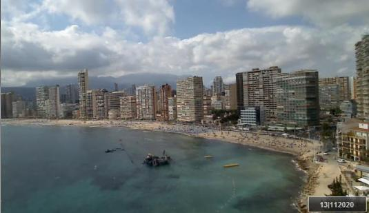 Benidorm Holiday Resort Live Playa Levante Beach Weather Webcam Costa Blanca Spain