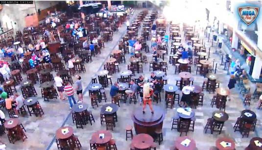 Arenal Megapark Live Bar Streaming HD Webcam Arenal Mallorca