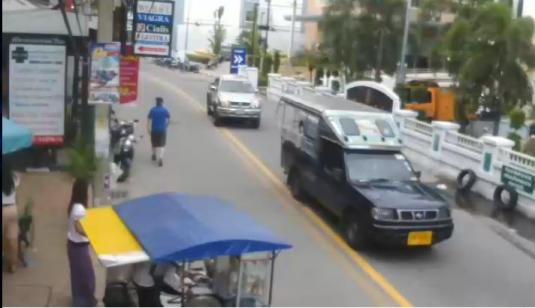Soi Buakhao Street Traffic Weather Webcam Pattaya Klang Rd Pattaya Resort Thailand