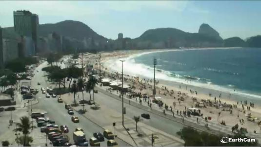 Copacabana Balneario Beach Live Streaming Rio Beach Weather Webcam