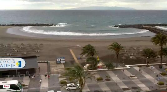 Playa de Troya Holiday Resort Beach Weather Webcam Playa de Las Americas Costa Adeje Tenerife