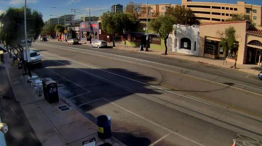 Tucson Downtown 4th Avenue Traffic Weather Webcam Arizona