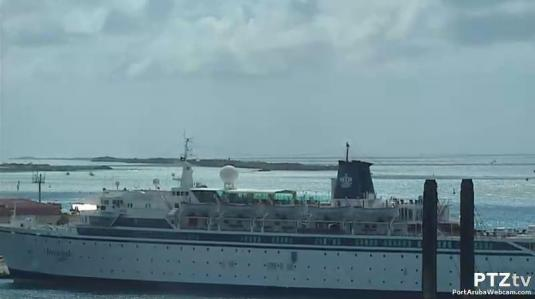 Live Aruba Island Port Aruba Cruise Ships Terminal Weather Cam - Webcams on cruise ships