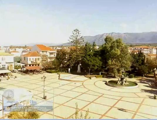 Filiatra Town Square Streaming Weather Webcam Filiatra Greece