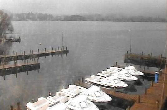 Lake Windermere Live Weather Webcam Lake District National Park Cumbria