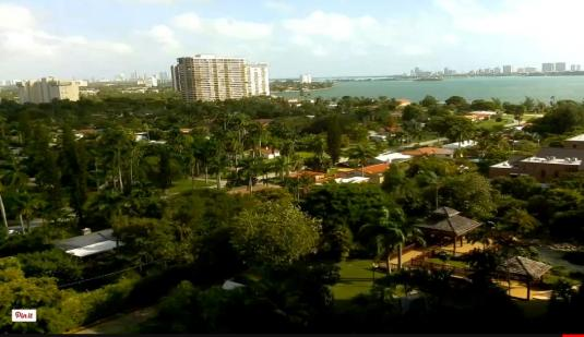 Miami City Live Streaming Webcam Miami-Dade County Florida
