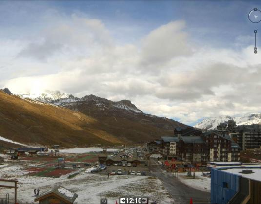 Val Claret Skiing Resort Ski Weather Webcam Tignes Savoie region France