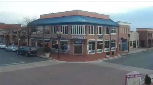 Gaithersburg City Downtown Kentlands Shopping Centre Webcam Maryland