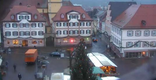 Bad Mergentheim Live Town Square Weather Webcam Germany