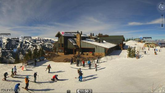 Aspen Ski Resort Aspen Mountain Sundeck Skiing Weather Web Cam Colorado