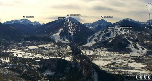 Aspen Live Skiing Resort Weather Web Cam Pitken County Colorado