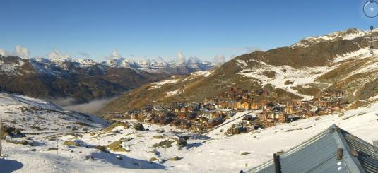 Val Thorens Live Ski Resort Skiing Slopes Snow Weather Cam French Alps