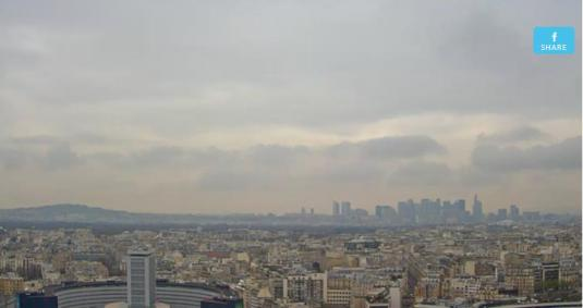 Paris Live Streaming HD Skyline Weather Webcam Paris City Centre France
