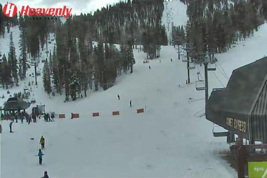 Heavenly Skiing Resort Live Streaming Ski Slopes Weather Web Cam California