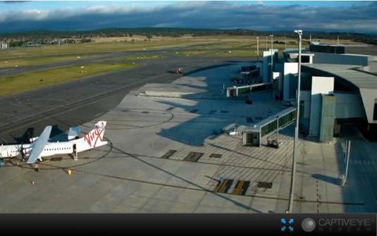 Canberra International Airport Weather Webcam Canberra Australia