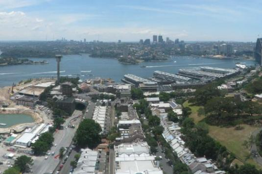 Sydney City Live Barangaroo Panorama Controllable Webcam