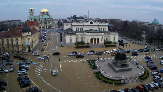 Sofia Live Downtown Bulgaria Parliament Building Webcam Bulgaria