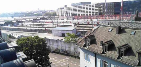 Zürich Hauptbahnhof Railway Station Webcam Zurich Switzerland