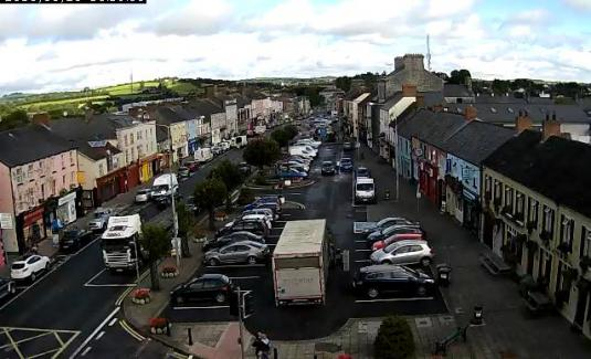 Carrickmacross Market Town Centre Traffic Weather Web Cam Ireland