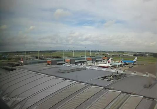 Amsterdam Airport Schiphol Weather Web Cam Amsterdam Netherlands