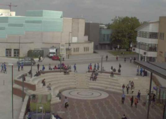 University of Warwick Piazza Campus Weather Webcam Coventry West Midlands