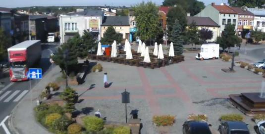 Wolbrom Market Square Weather Webcam Olkusz County Poland