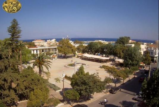 Chios Town Centre Weather Cam Chios Island Greece