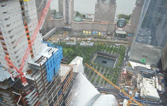 New York Live 9/11 Memorial Museum Webcam World Trade Center Site NYC