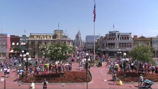 Magic Kingdom Live Streaming Main Street Webcam Walt Disney World Resort Florida