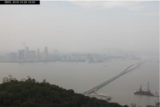 Macau City Skyline Weather Web Cam Macao China