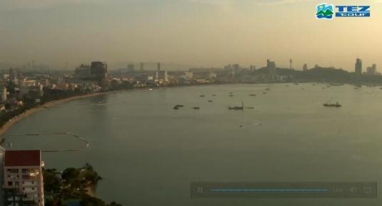Pattaya Holiday Resort Live Weather Webcam Pattaya City Thailand